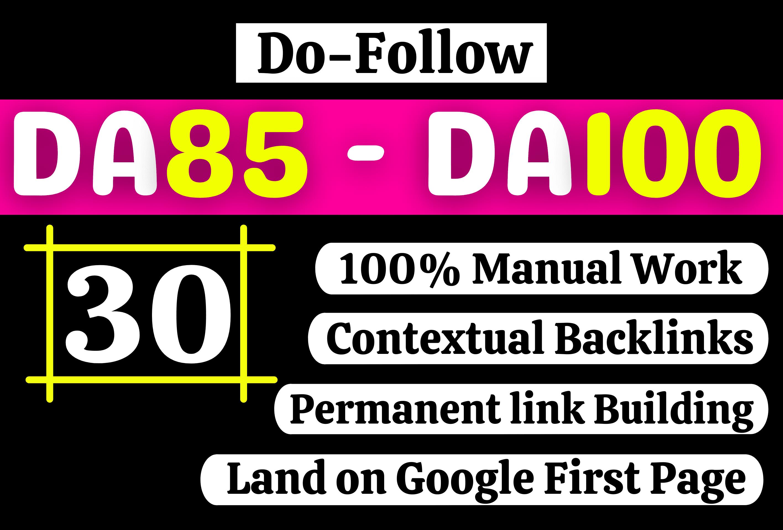 Rank Raider - Get Ultra Manual Do Follow Mixed Permanent Backlinks DA85-DA100 High DR PA TF CF Sites