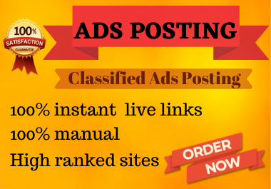 15 high authority classified ads posting to top ads posting websites