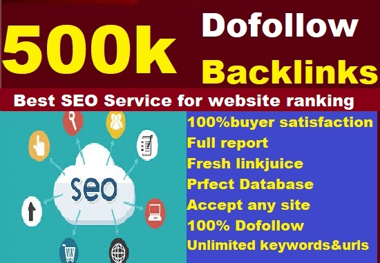 I will Build Verified 500k GSA SEO Backlinks