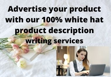 300+ words of user friendly product description writing.