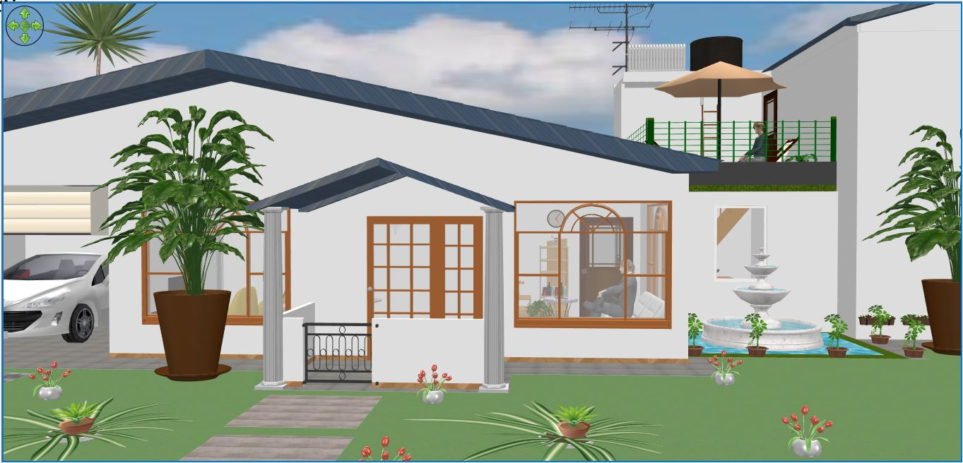 I will do 3D modeling in Sketchup Exteriors or interiors perfectly