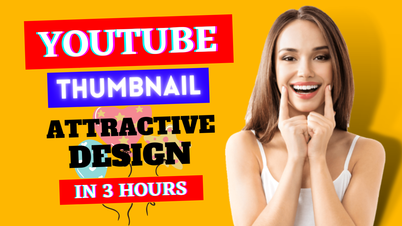 I Will Create EYE CATCH YouTube Video Thumbnail