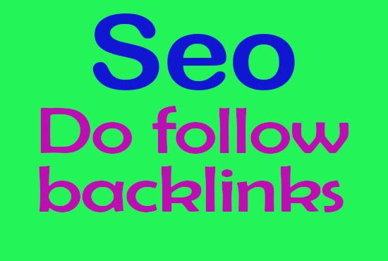 900 high authority quality SEO dofollow backlinks