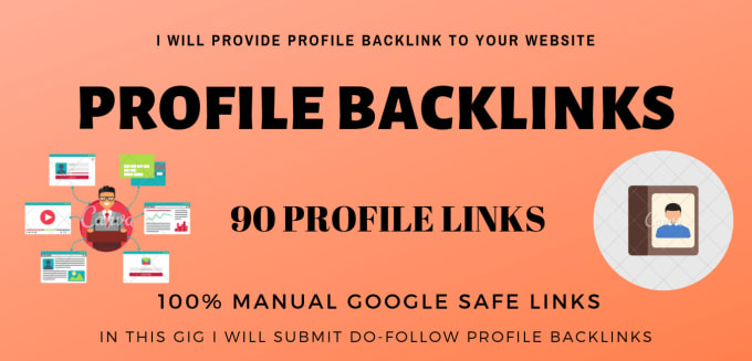 I will provide 150 high quality profile backlinks for website