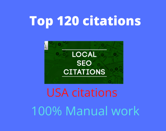 I will create 120 local listing citation
