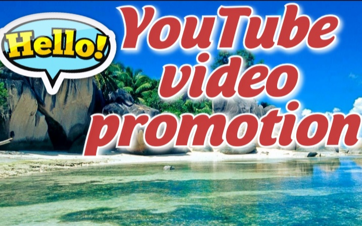 YouTube video promotion and video marketing
