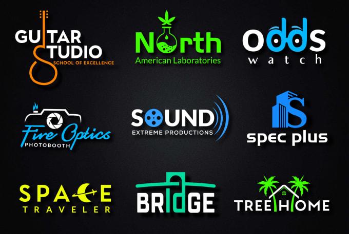 I will design modern creative logo