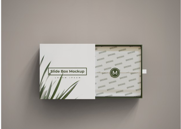 I will create a product box packing design for you