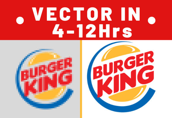 Vectorize or Customize Your Logo 4-12 Hrs Delivery