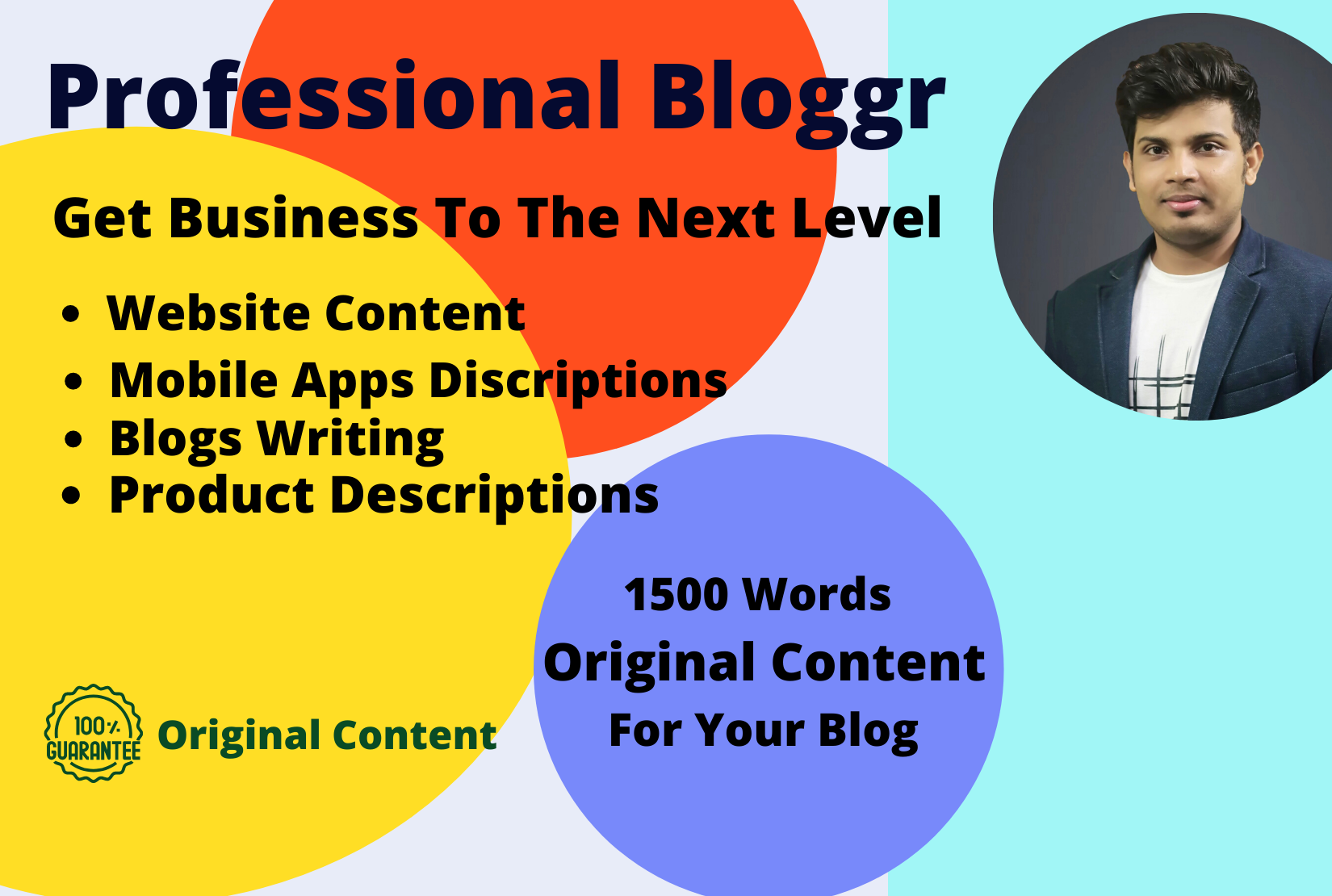 1500 word original content for your blog,  Website and Apps