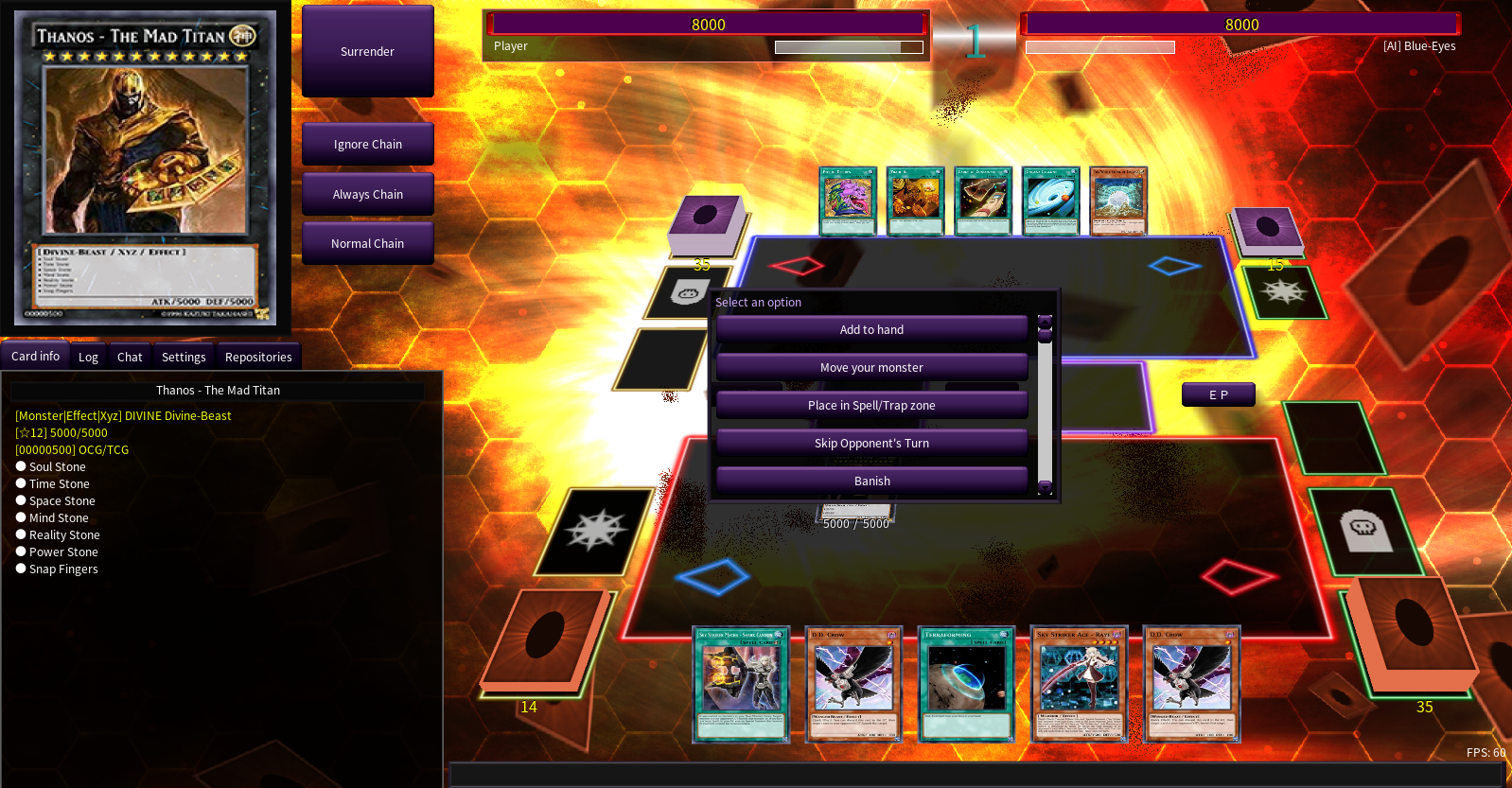 I will create custom yugioh cards for you to use on ygopro