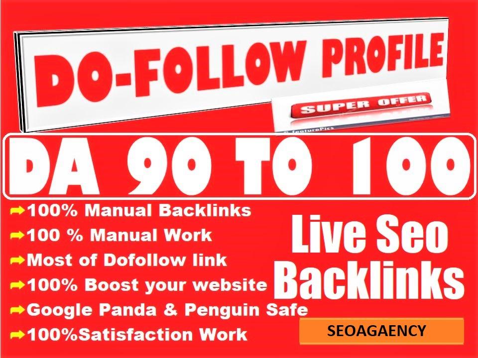 Do 100 Manual Pr9 High Authority Dofollow Profile Backlinks Seo Link Building For Google Top Ranking