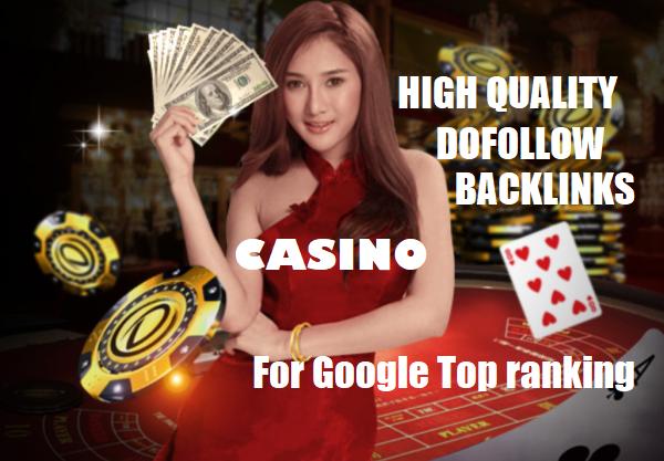 I Will Do 30 Manual Powerful DA 90+Adult,Casino,Poker,Gambling High Authority seo dofollow backlinks