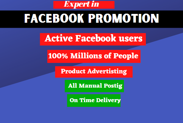 I will promote your business to 2 million people in USA by facebook