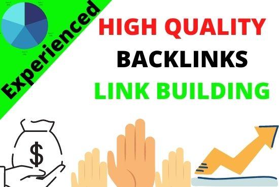 I will do high quality seo backlinks link building manually