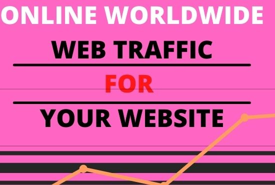 I can marketing for your worldwide online web traffic