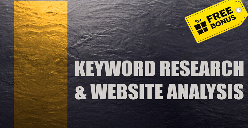 I will do in depth SEO keyword research in 12 hours
