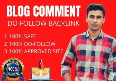 I will create 30+ blog comment backlinks,  high da pa google ranking