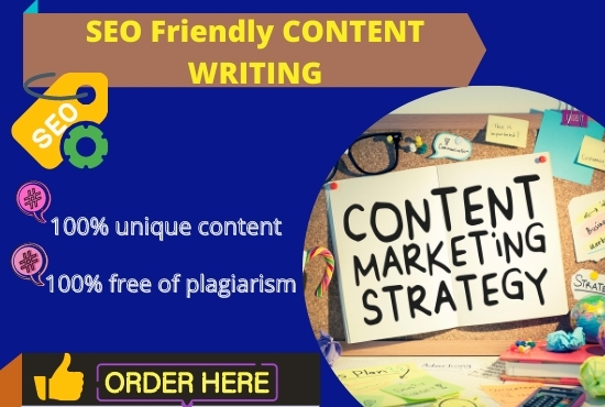 I will write 1500+ word SEO friendly blog or article on any topic you choose