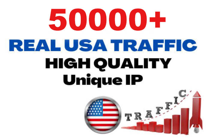 50000+ Unique USA Targeted Website Traffic to your website