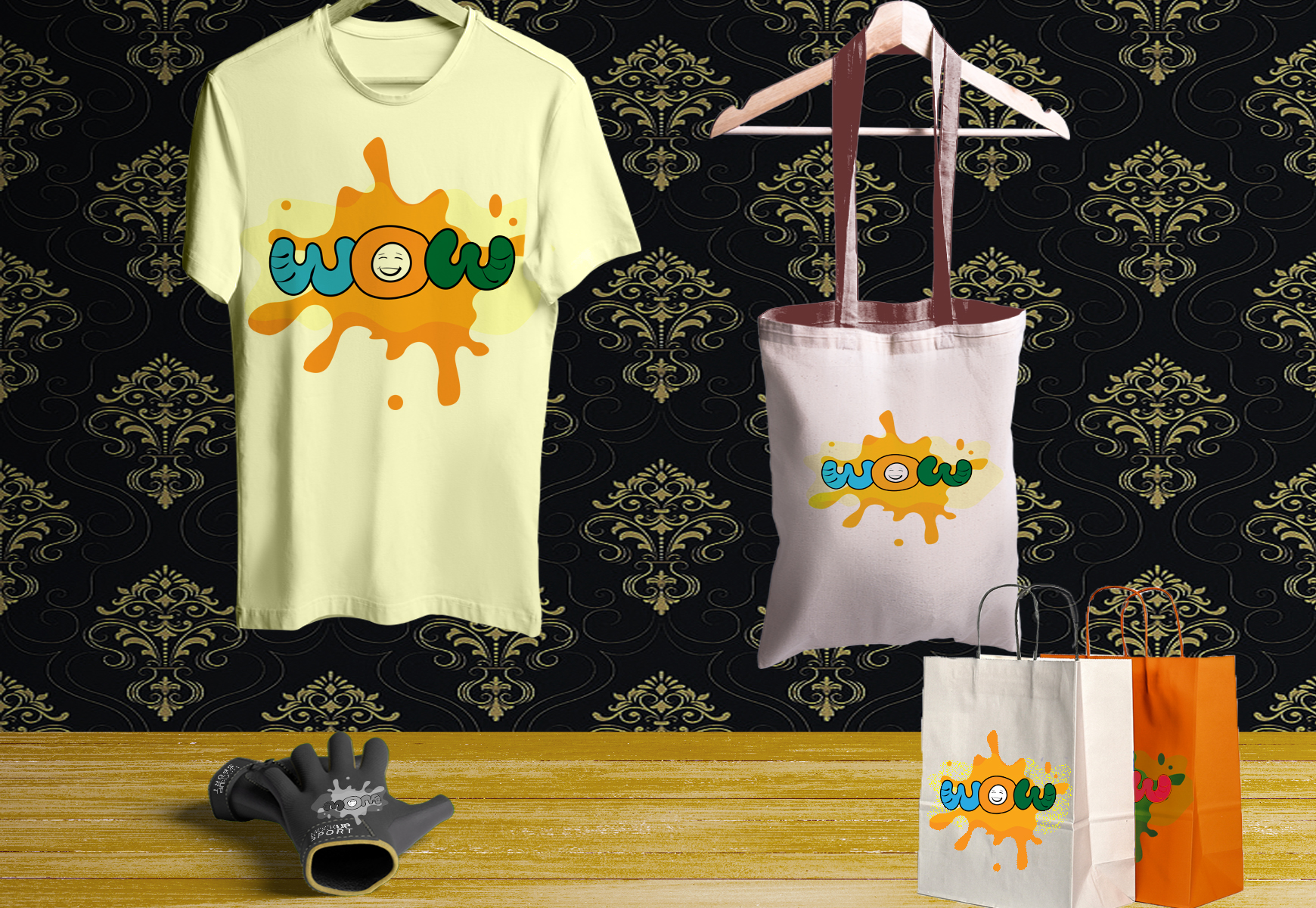 I will create awesome trendy t shirt design