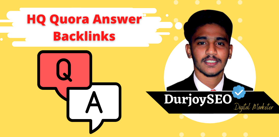 GET 10 HQ Worldwide Quora Answer With Contextual SEO Backlinks