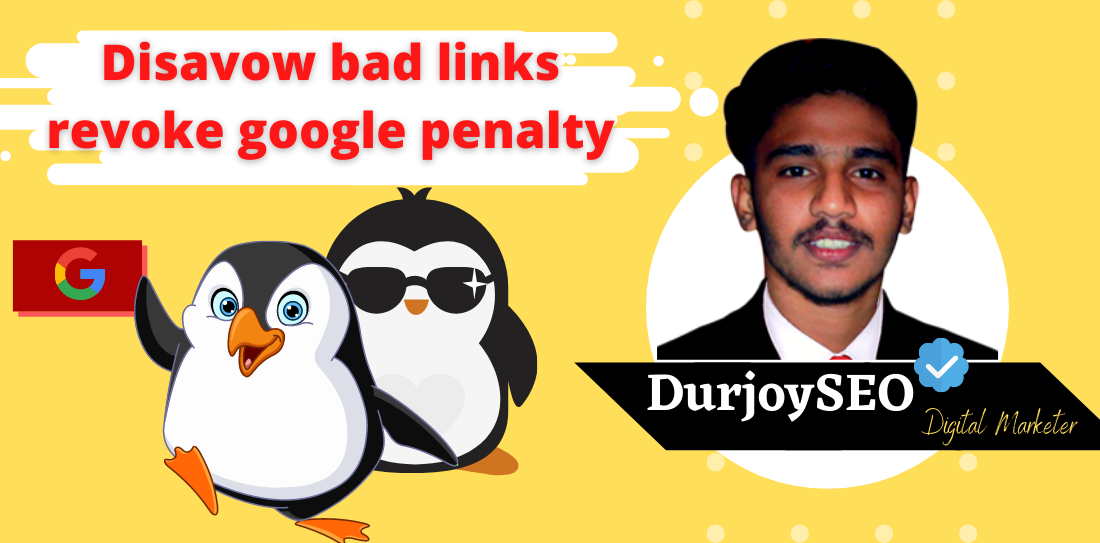 I will identify,  remove and disavow bad links and revoke google penalty