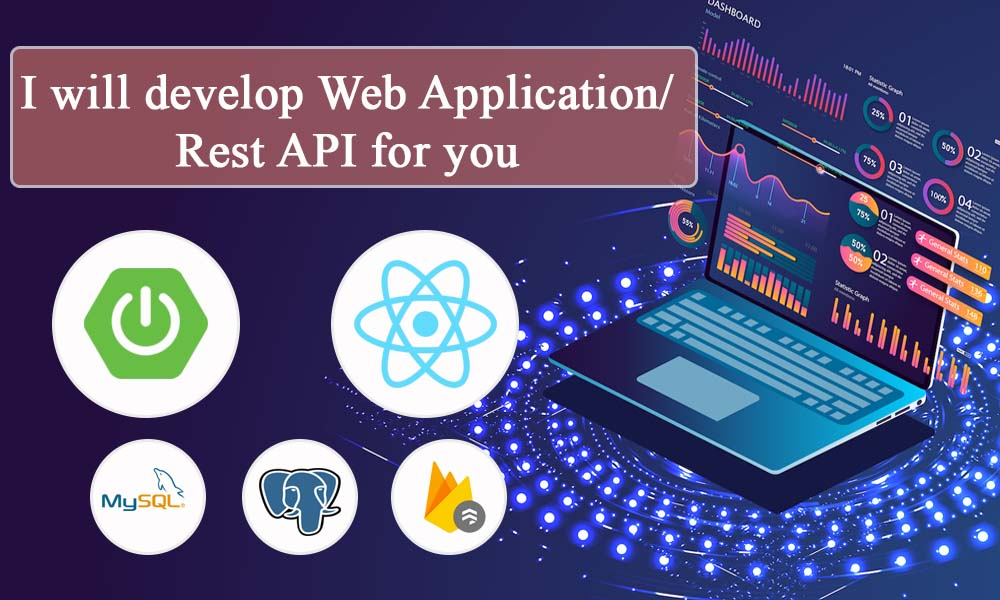 I wiil develop Web Application / Rest-Api