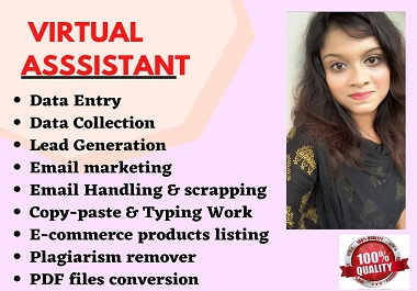 I will be your professional and reliable virtual assistant
