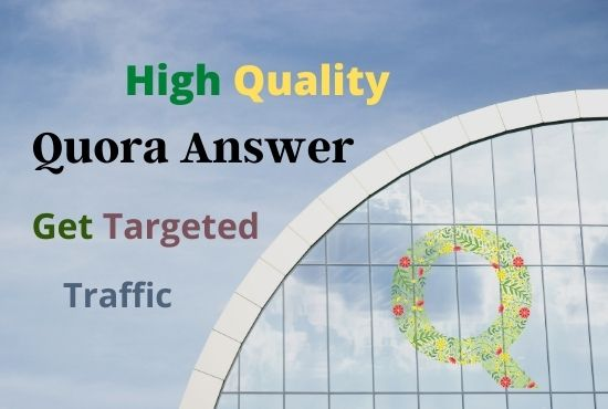 Guaranteed Targeted Traffic Your Website 20 High Quality Quora Answer