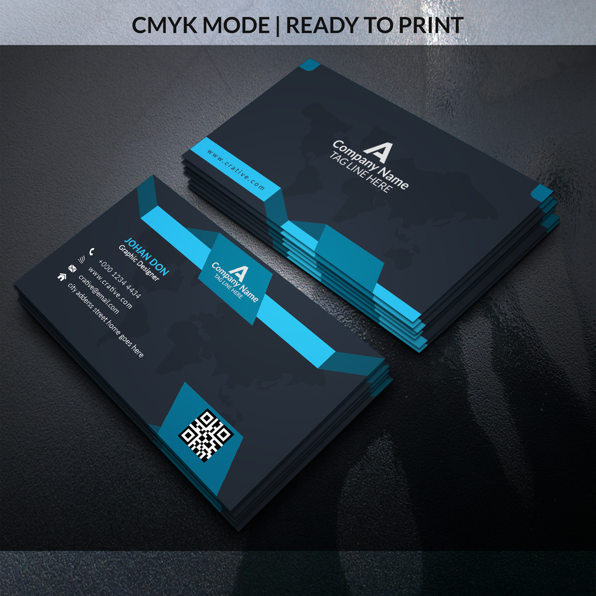 I will do creative business card and stationery design