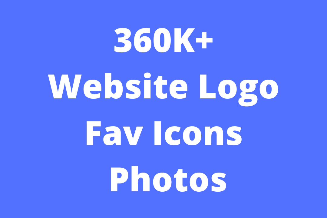 360K+ Website Logo,  Icons and Photos