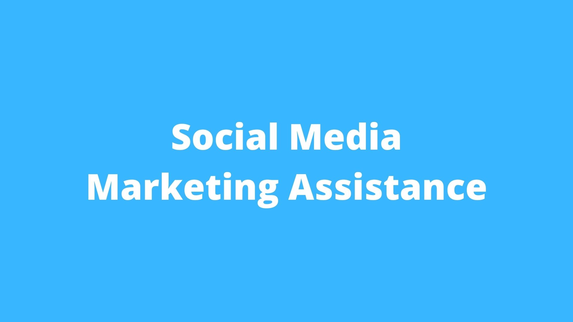 Social Media Services Set-Up and Ads Management