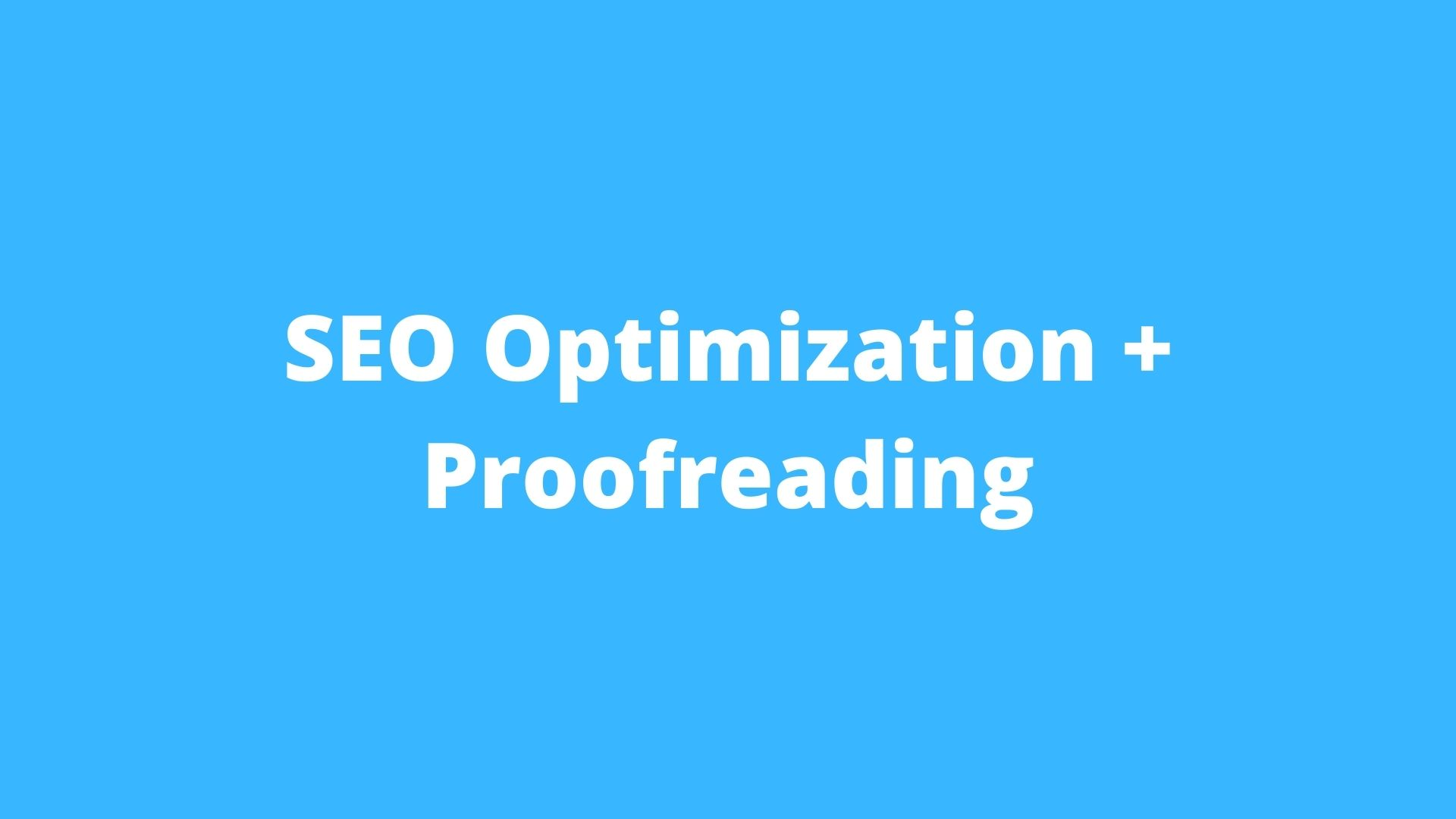 Improve your website performance - SEO services