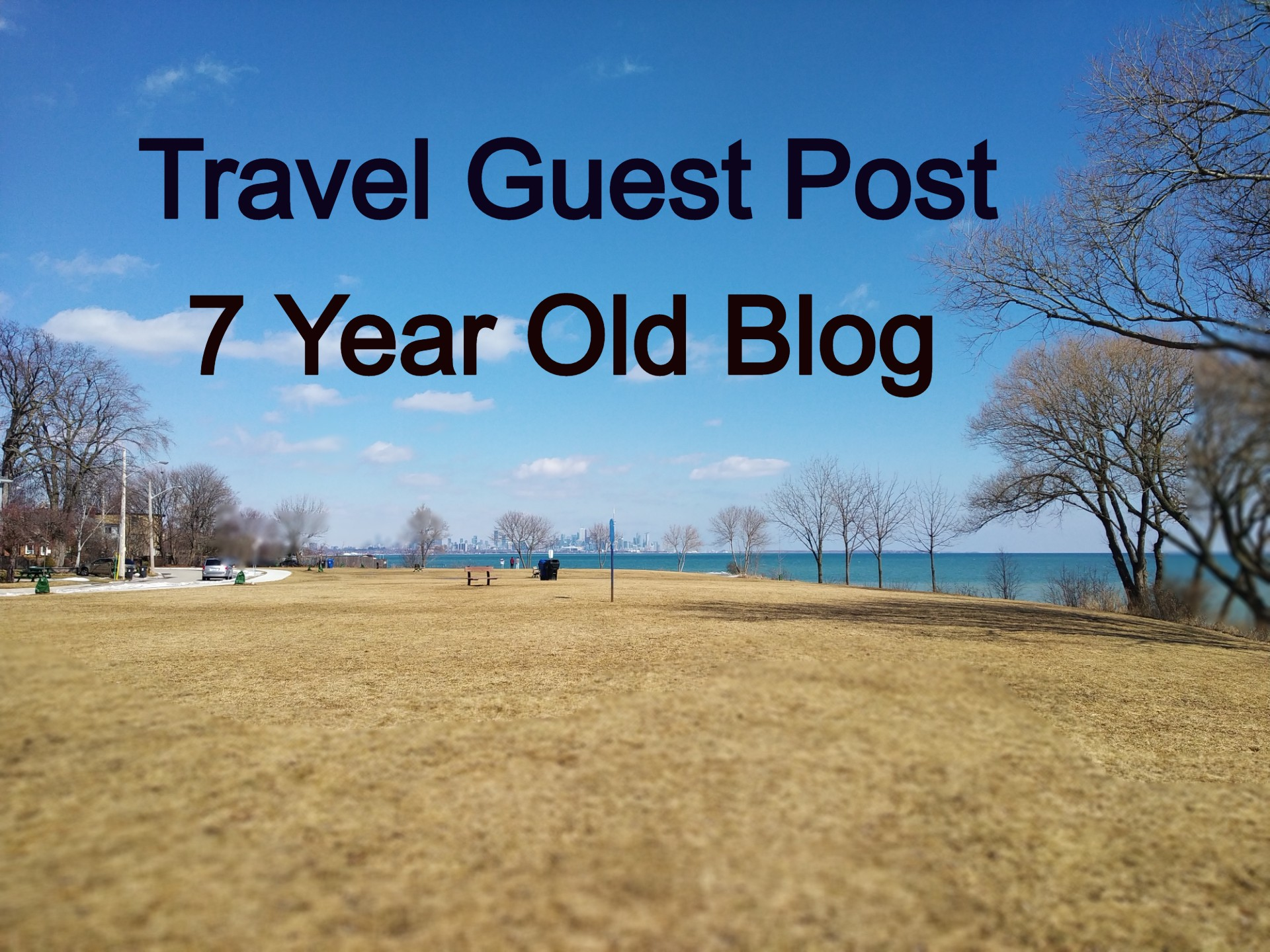 Travel Guest Post on 7 Year Old Blog with Do-Follow Backlink