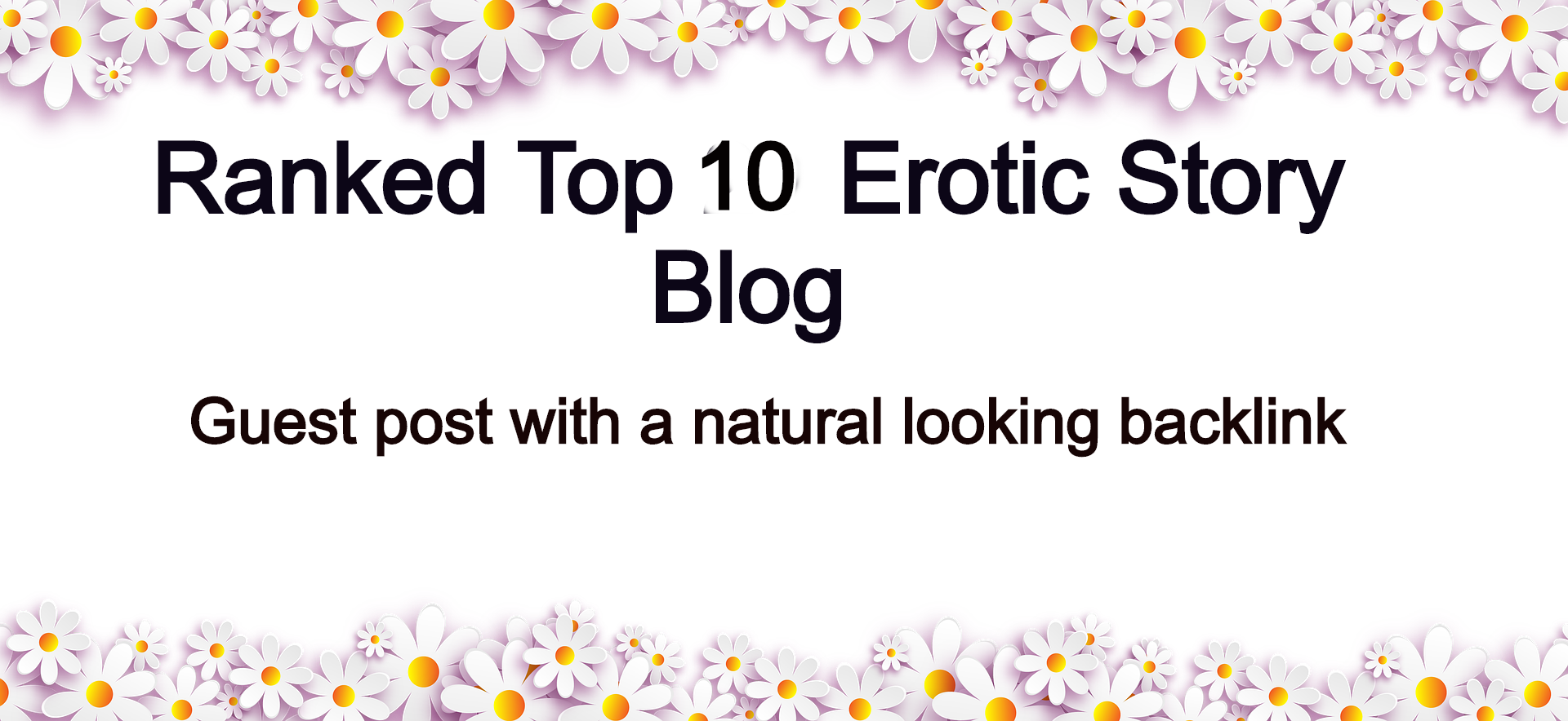 Adult Guest Post on Top 4 Ranked Canadian Erotic Story Site