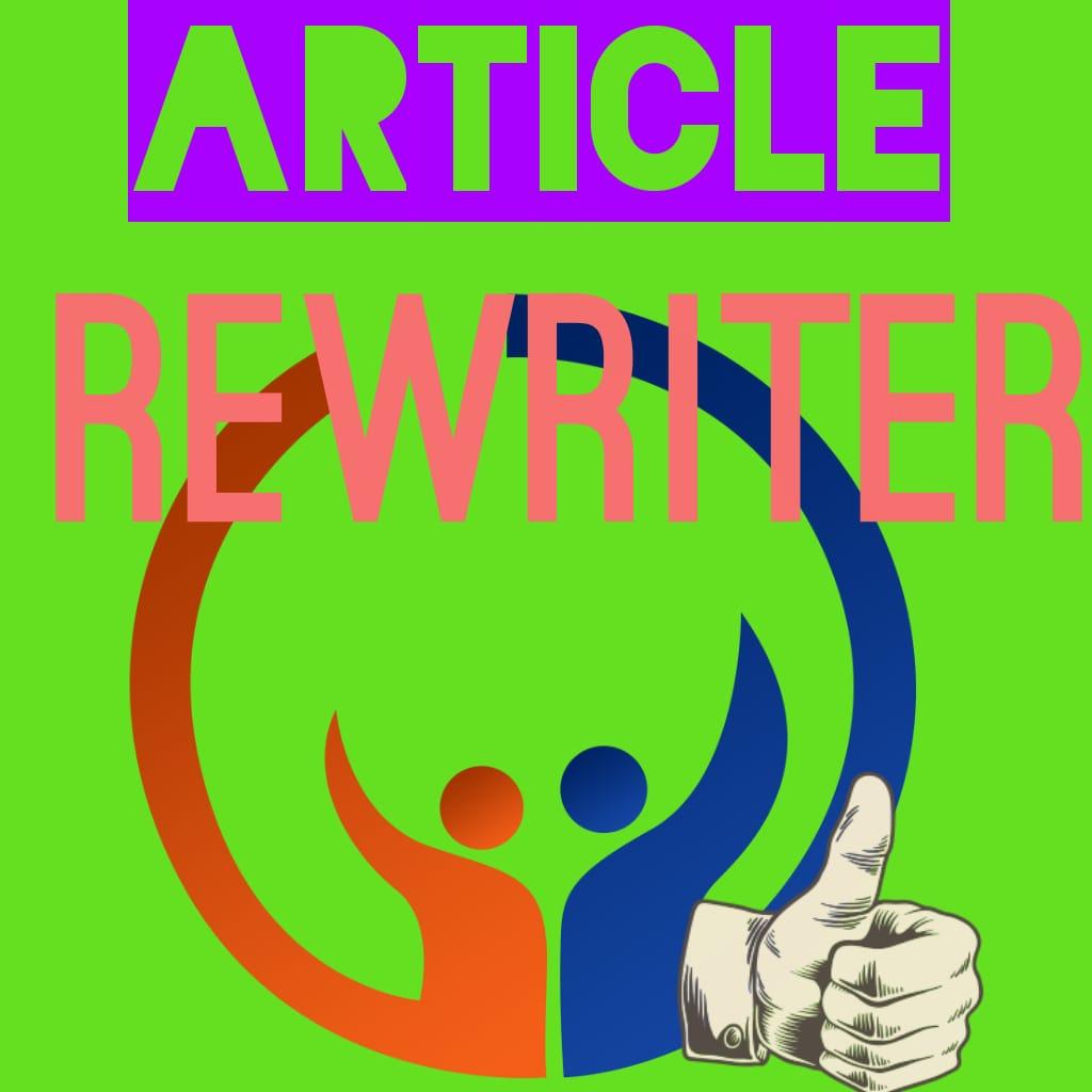 Article Rewriter for Blogger unique software for Digital marketing