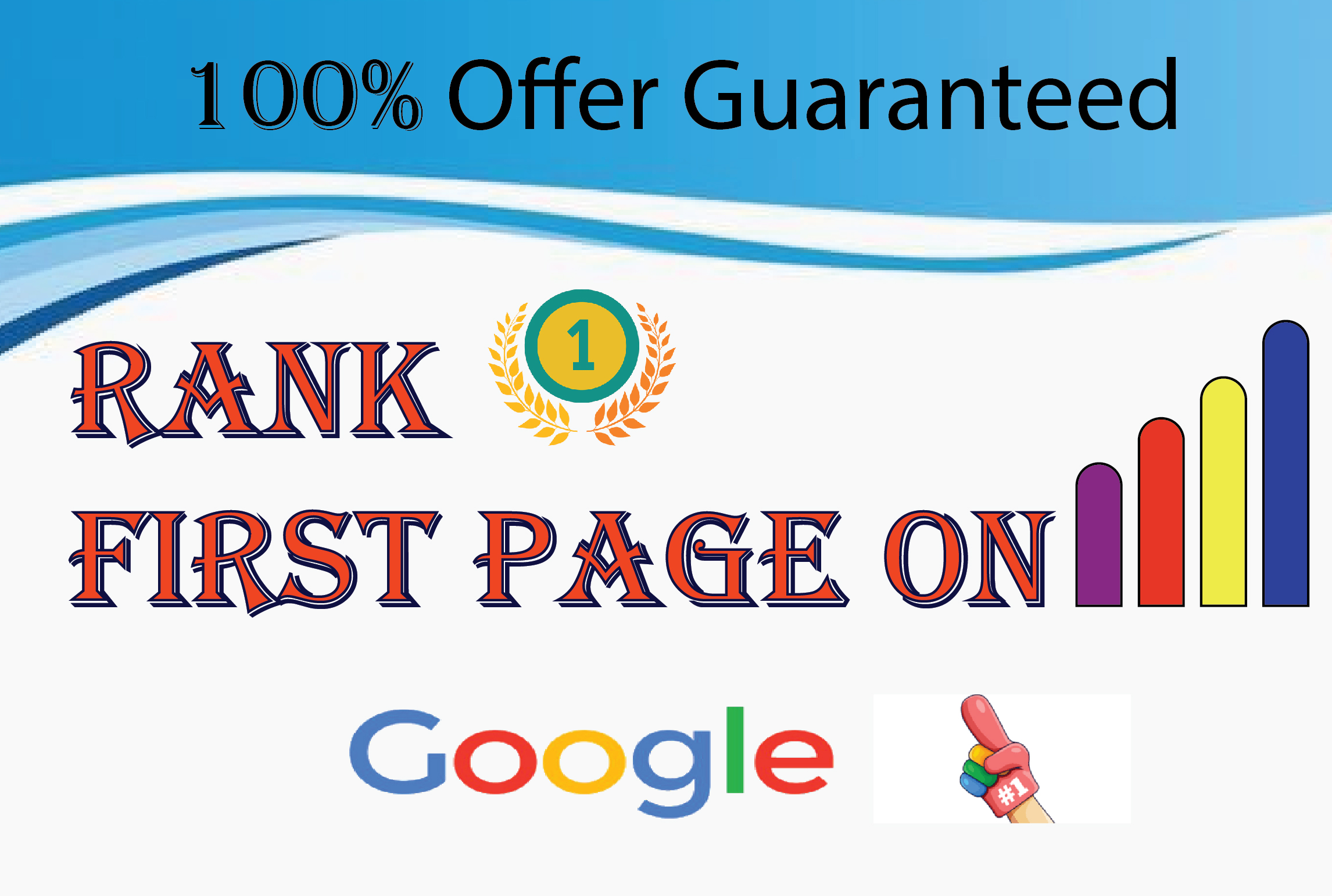 I will do full SEO to rank your website on google 1st page by one keyword