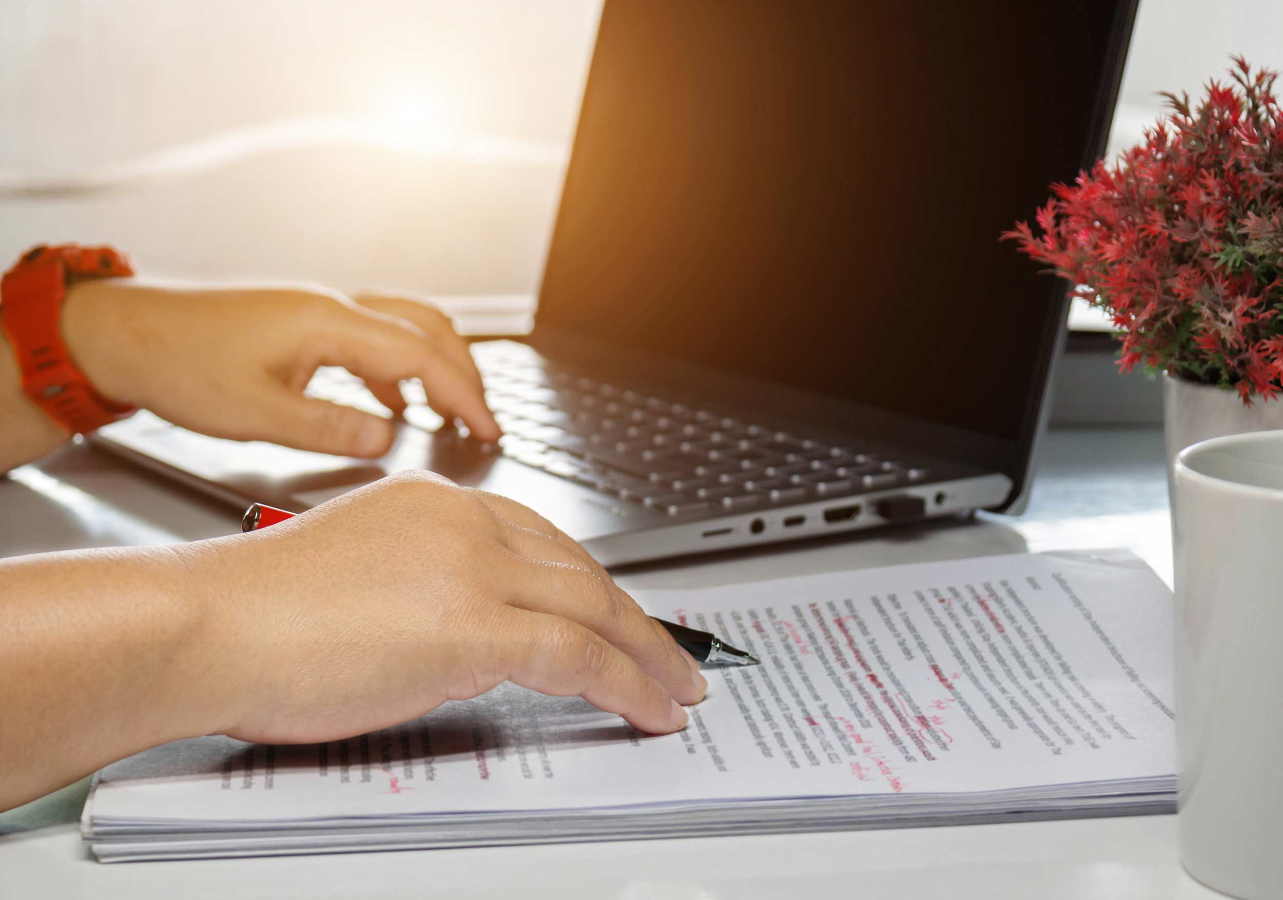 I will proofread and copy edit your website content