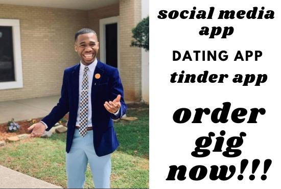 build social media app,  dating app,  social chat app,  video chat app