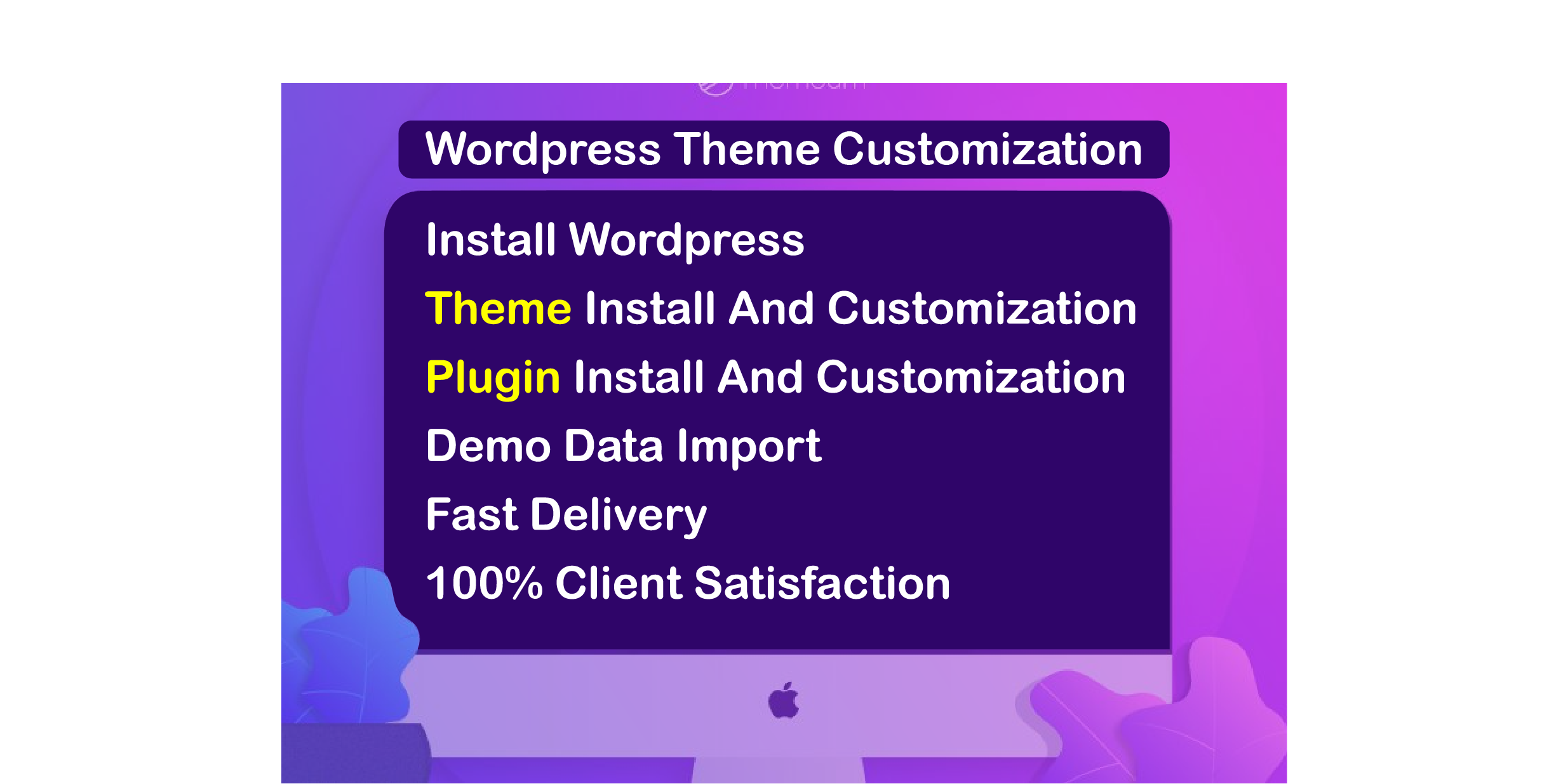 i will design wordpress website with premium theme and plugin customization