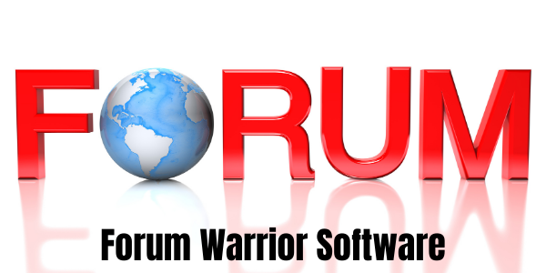 Forum Warrior Software to stores all your forums login details