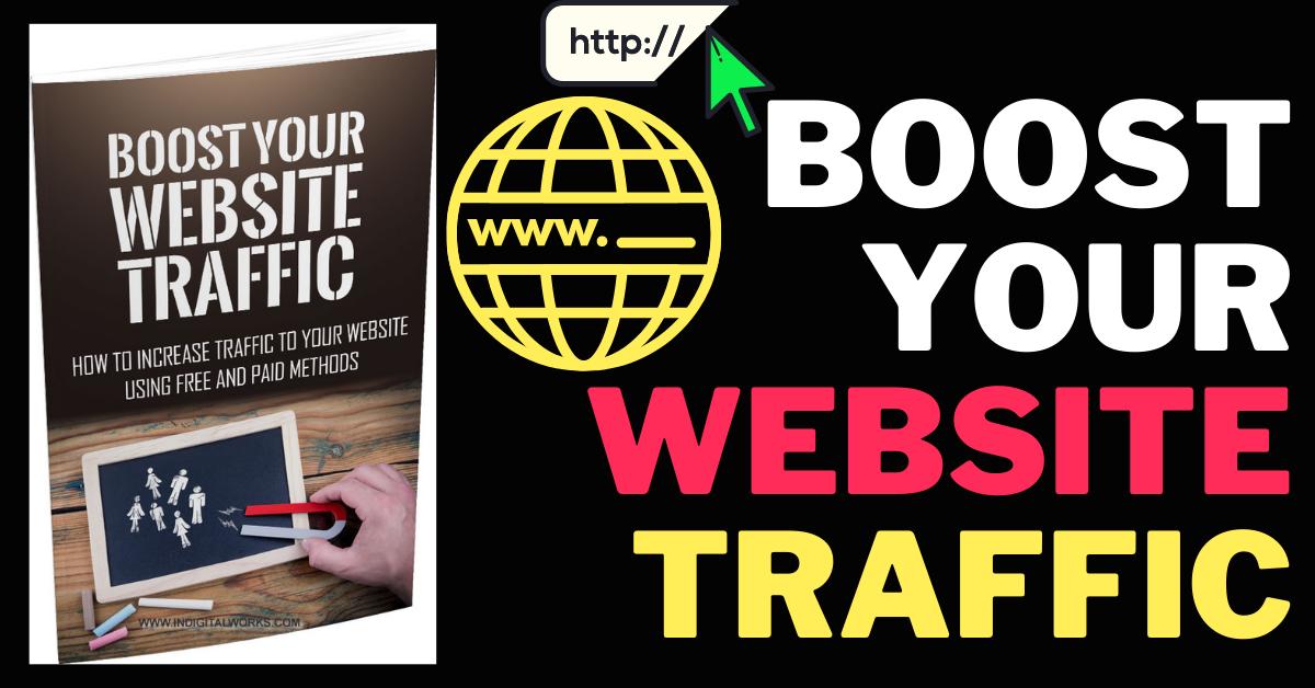 I will provide Boost Your Website Traffic Handbook