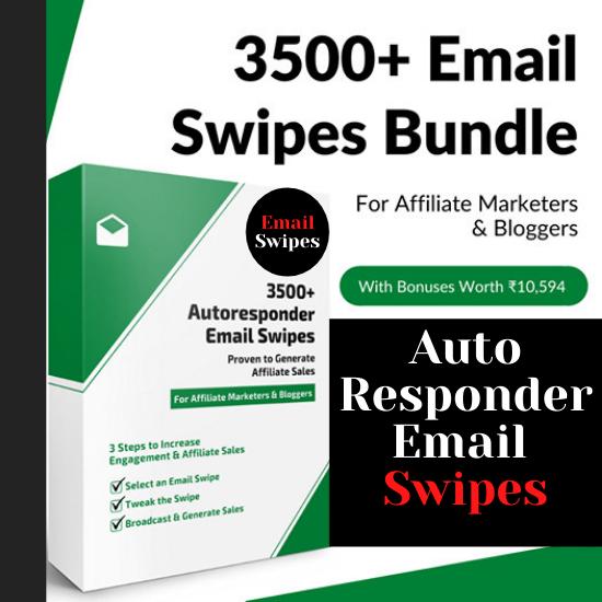 I will provide 3500 plus autoresponder email swipes bundle