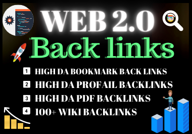 Manual 10 web2.0 Backlinks DA Unique link building permanent dofollow contextual