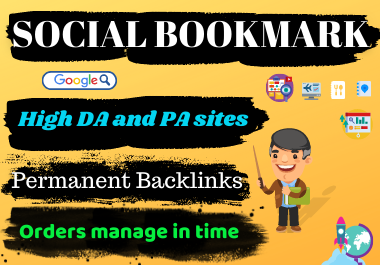 I Will Do 20 High Quality Social Bookmarking To Rank Your Business