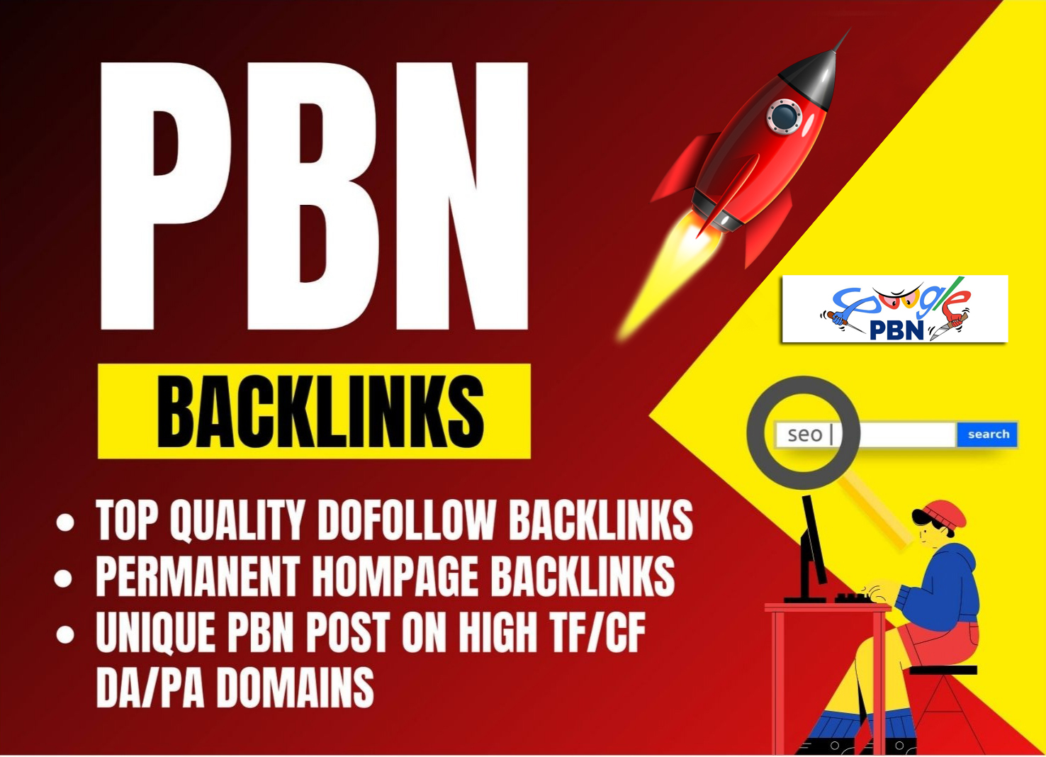 Build trusted 100 pbn high quality backlinks