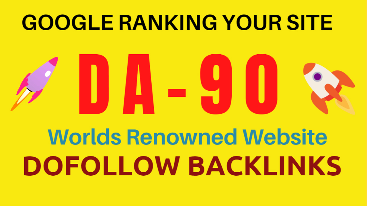 I will build 150 high quality DR-90 dofollow backlinks