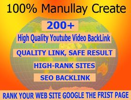 I will create high quality backlink promotional videos