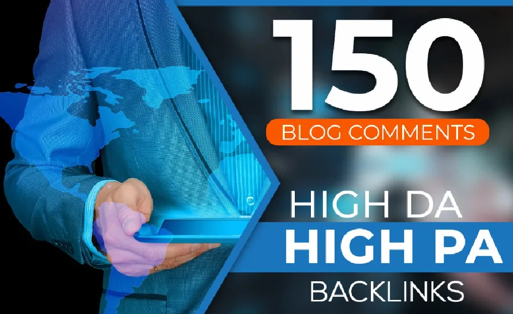 I will do manually 150 dofollow blog comment backlinks